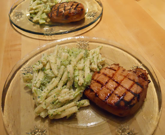 Pork chop side dish recipes