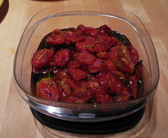 Oven Roasted Tomatoes TJRecipes.com Tim and Victor's Totally Joyous Recipes