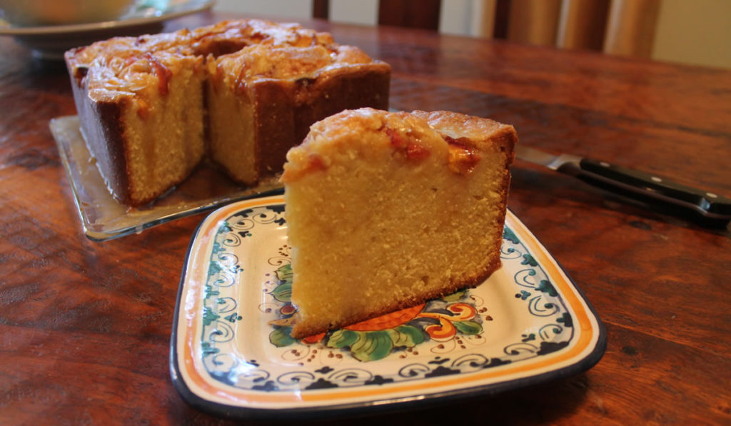 Dolester Miles Bourbon-Glazed Pound Cake