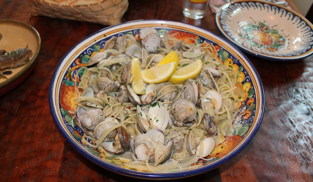 Spaghetti and Littleneck Clams
