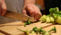 Tim Cutting Peppers