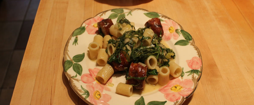 Sausage and Rigatoni