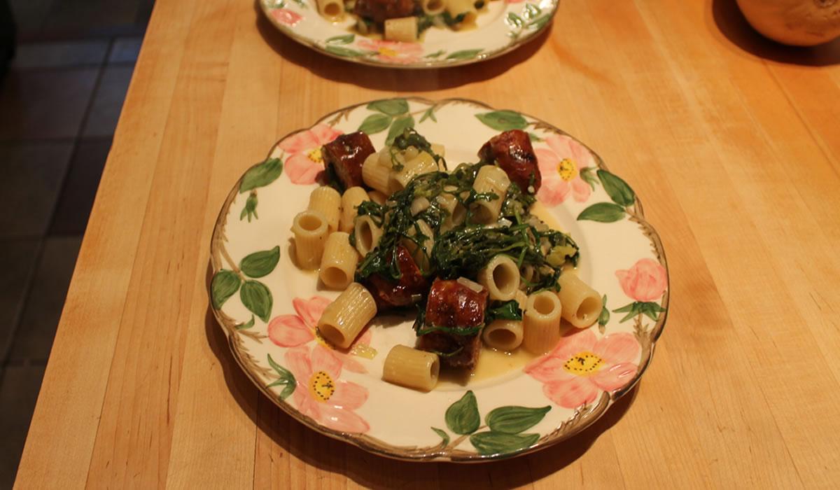 Sausage and Rigatoni