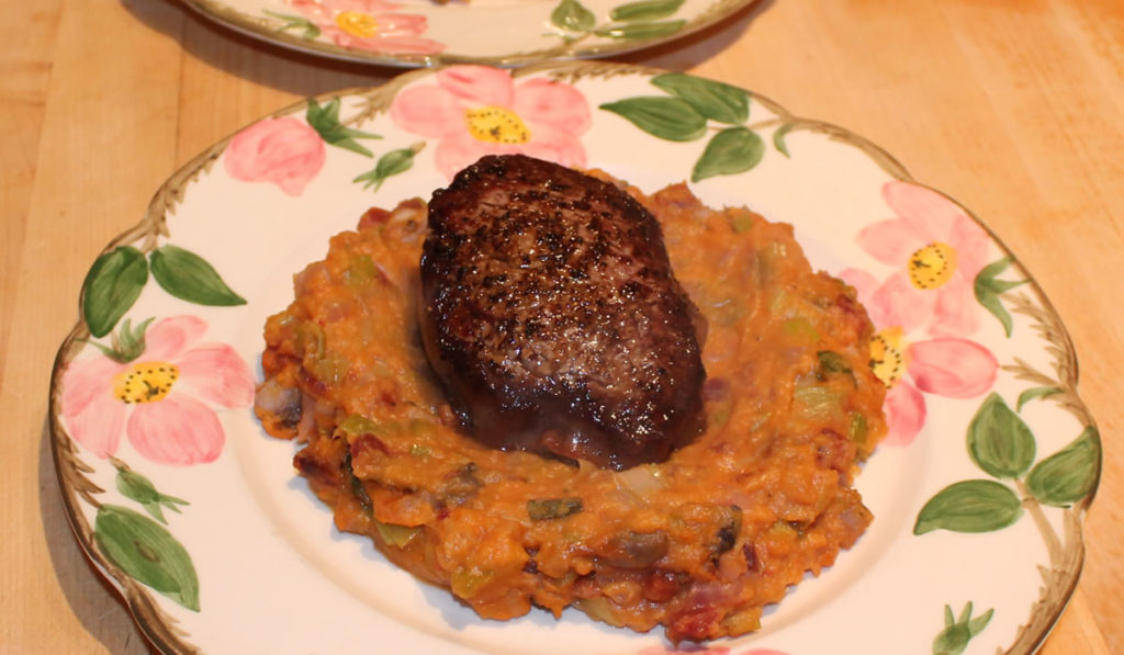 Steaks and Sweet Potatoes