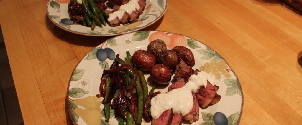 Steak and Horseradish
