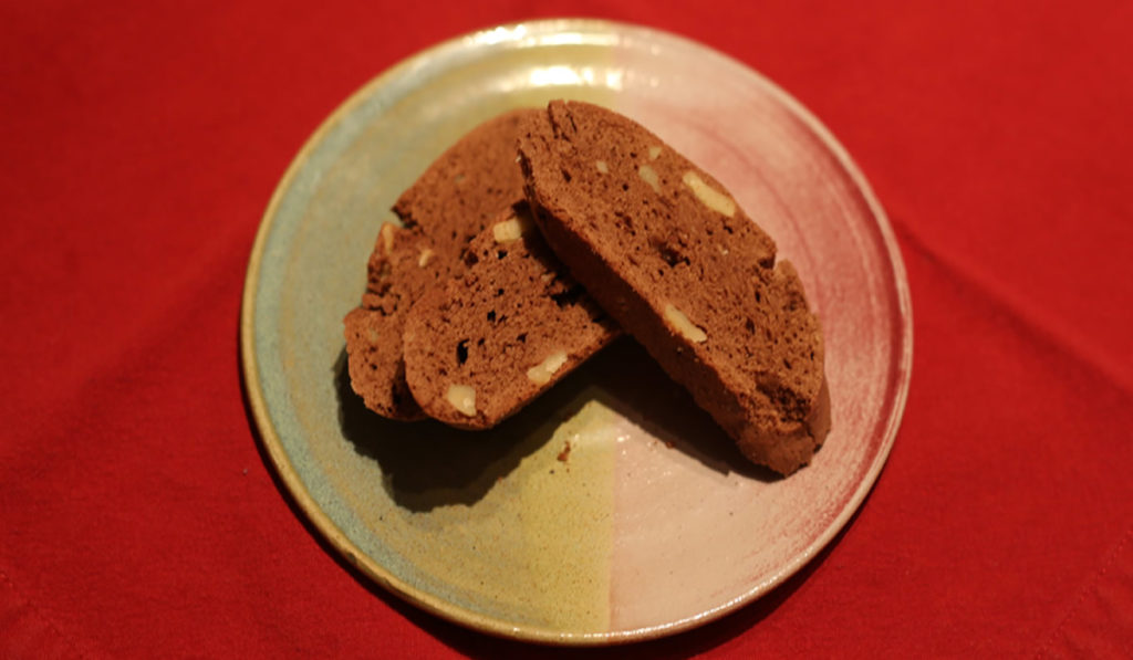 Chocolate Sambuca Biscotti