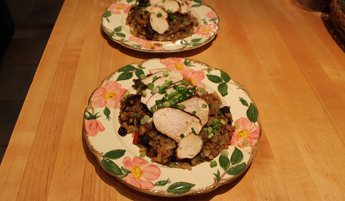 Lentils-and-chicken