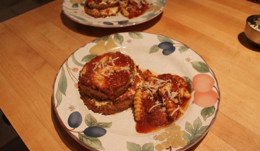 Eggplant and Gnocchi