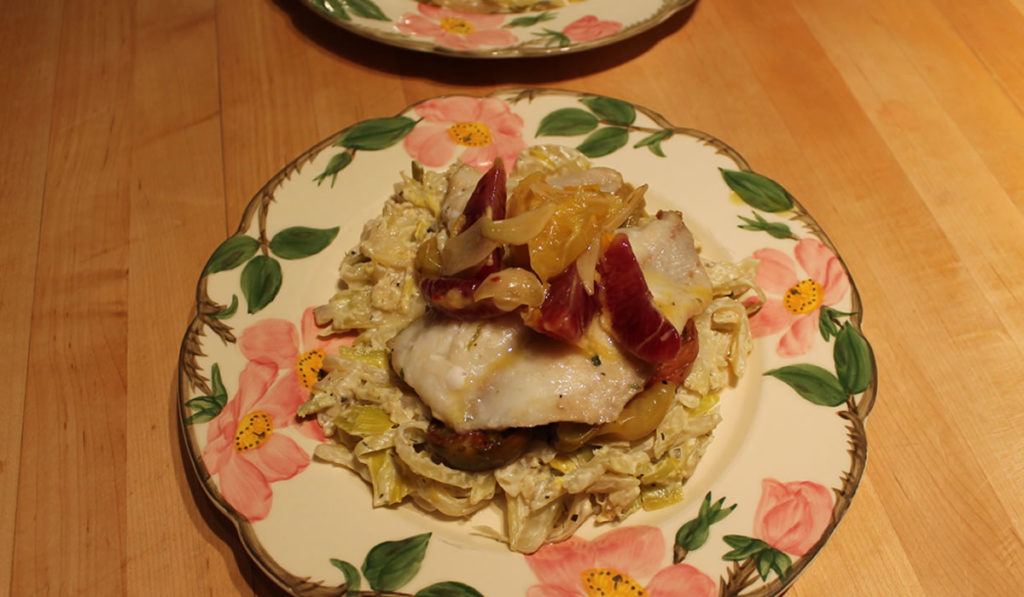 Cod and Fennel