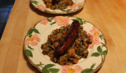 Sausage and Lentils