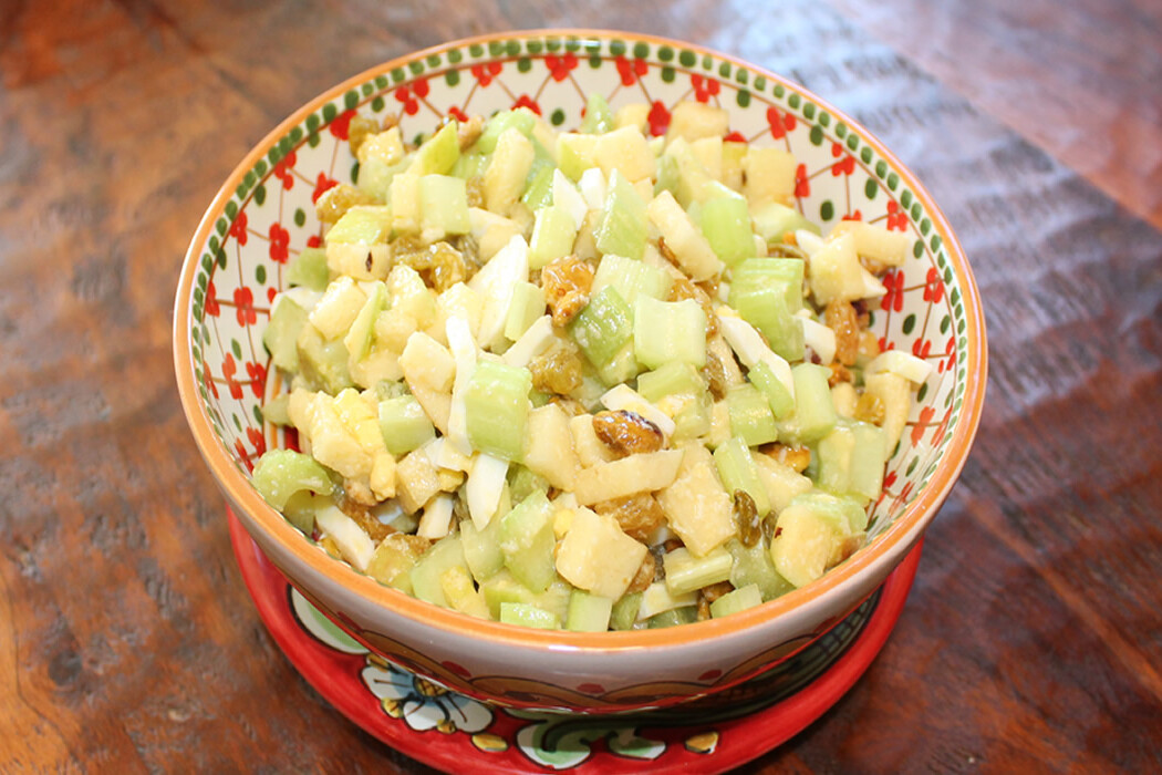 Celery and Apple Salad with Pistachios