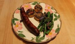 Sweet Potatoes and Sausage