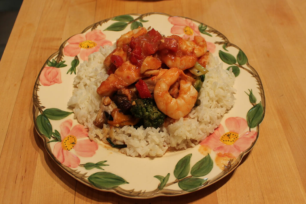 Shrimp and Cod