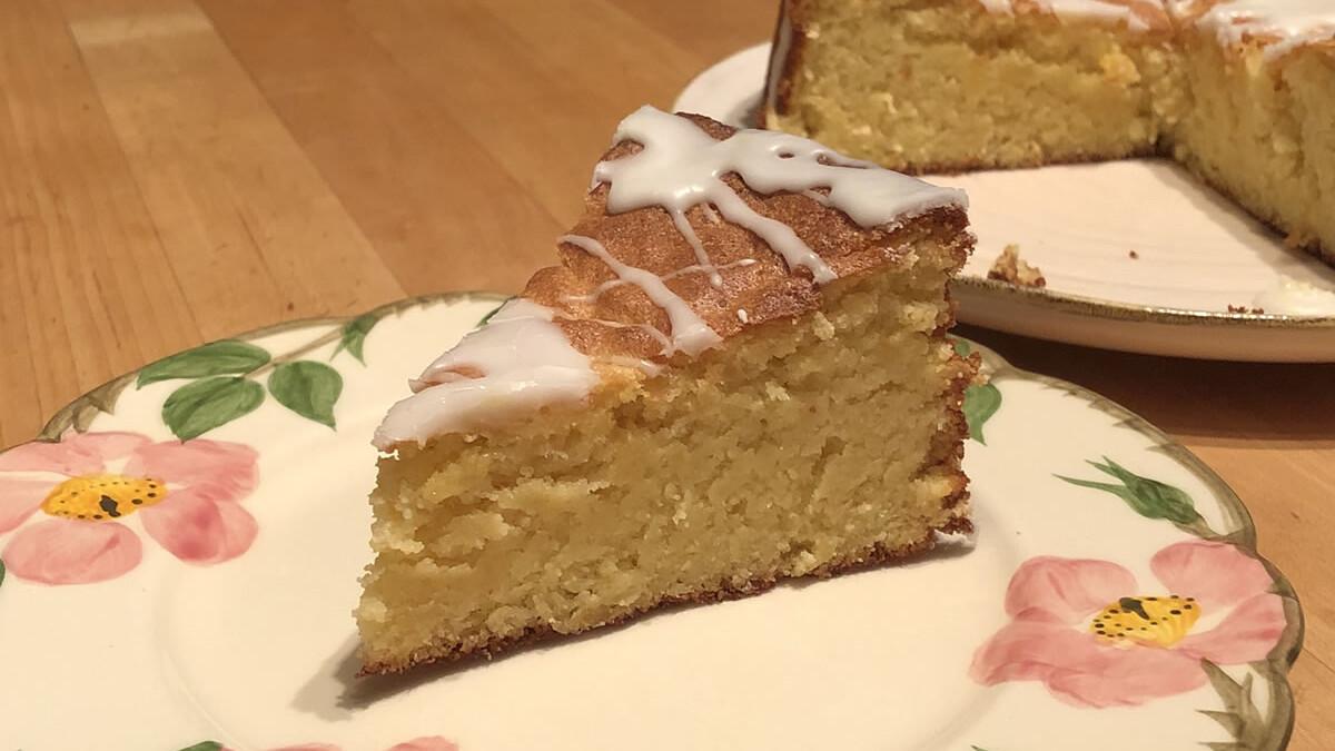 Sicilian Almond Lemon Cake